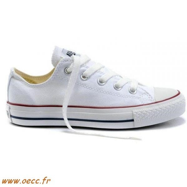 converse basse blanche femme taille 35