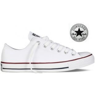 chaussures femme converse basse blanc