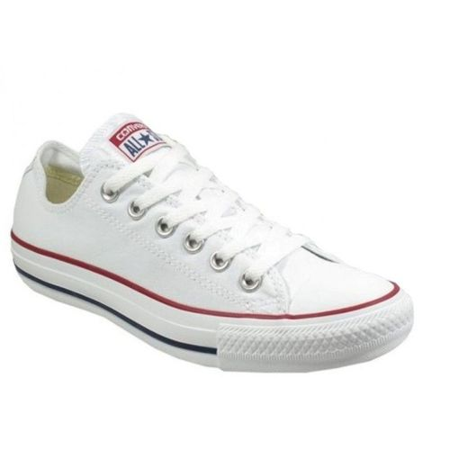 converse basse blanche fille