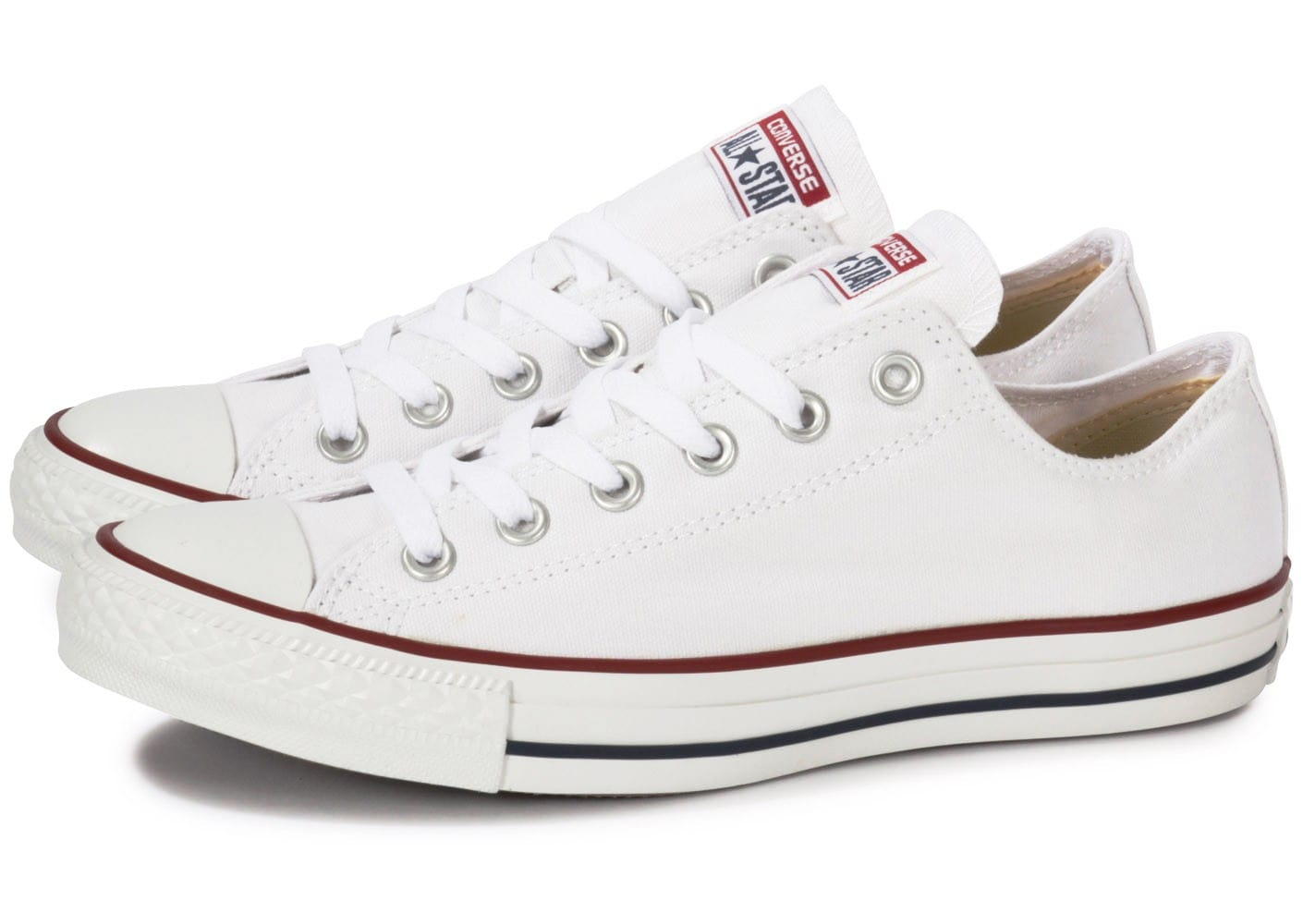 converse blanches basses femmes