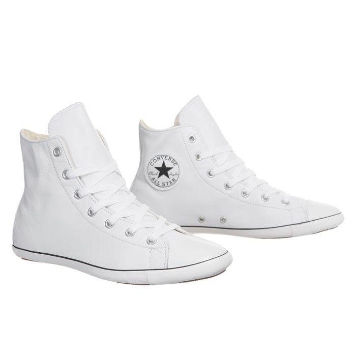 converse homme blanche cuir
