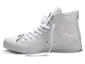 converse homme cuir blanche