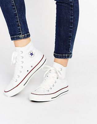 converses montante blanches femmes