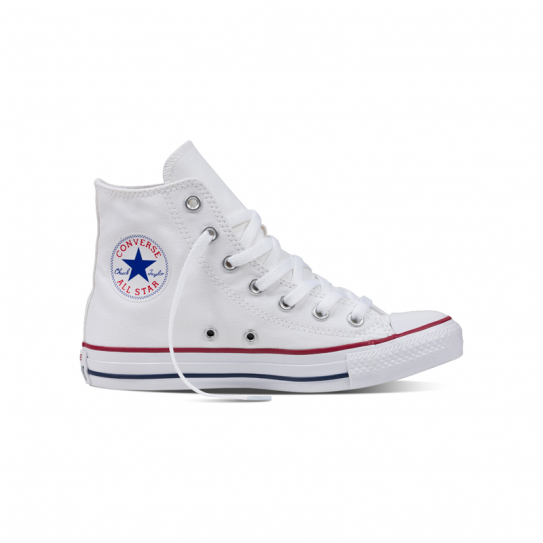 converses montantes blanches